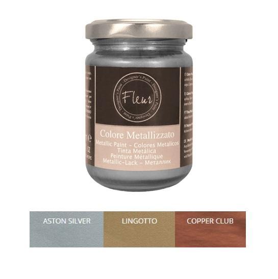 Μεταλλικο χρώμα σε βάζο 130ml