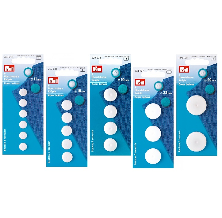 Πλαστικοί κάλυκες για κουμπιά