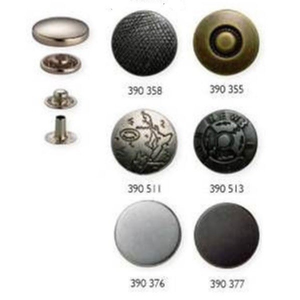 Τρούκς κουμπιά μεταλλικά 20mm