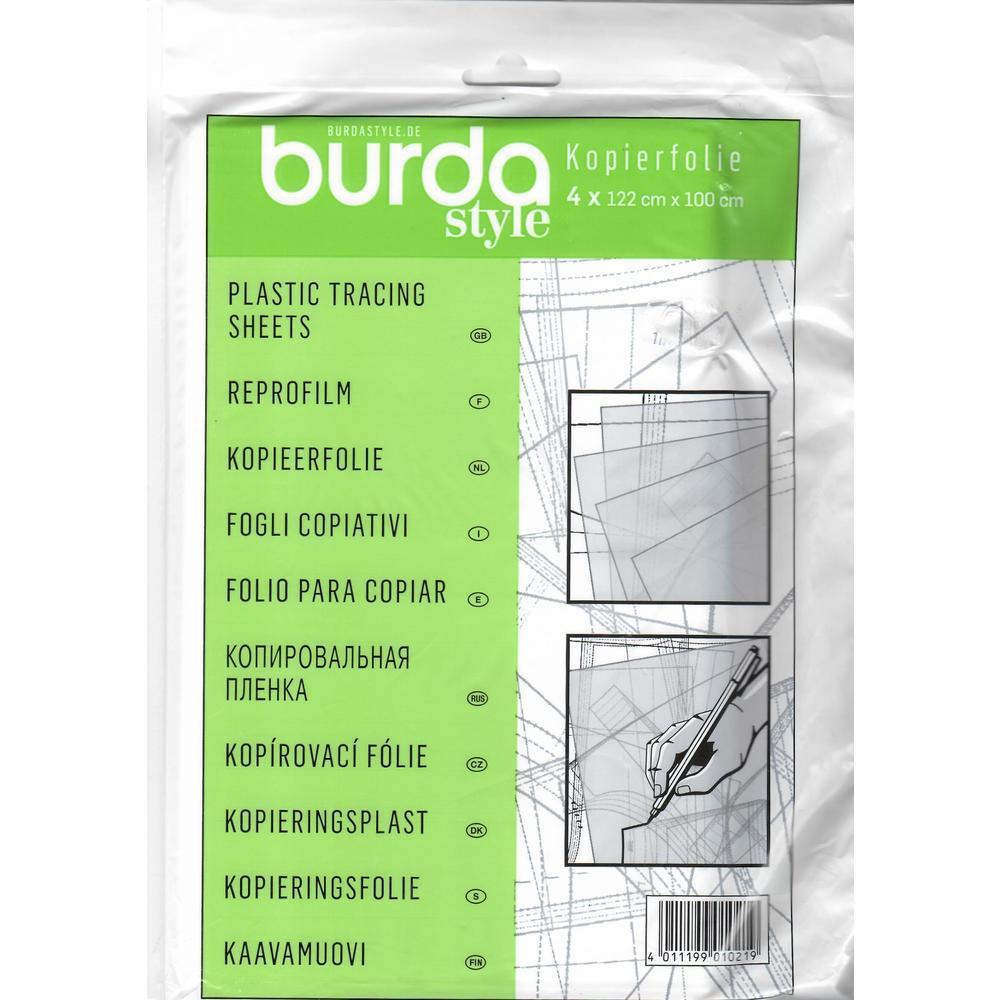 Φύλλα πατρόν πλαστικά διάφανα Burda