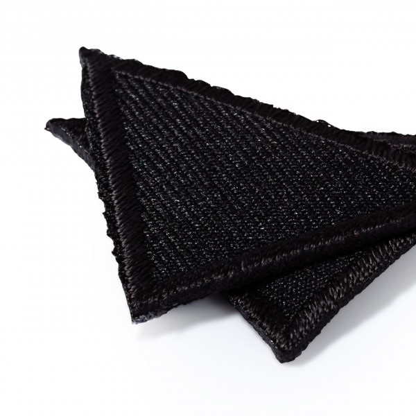 Θερμοκολλητικά μοτίφ τρίγωνα μικρά