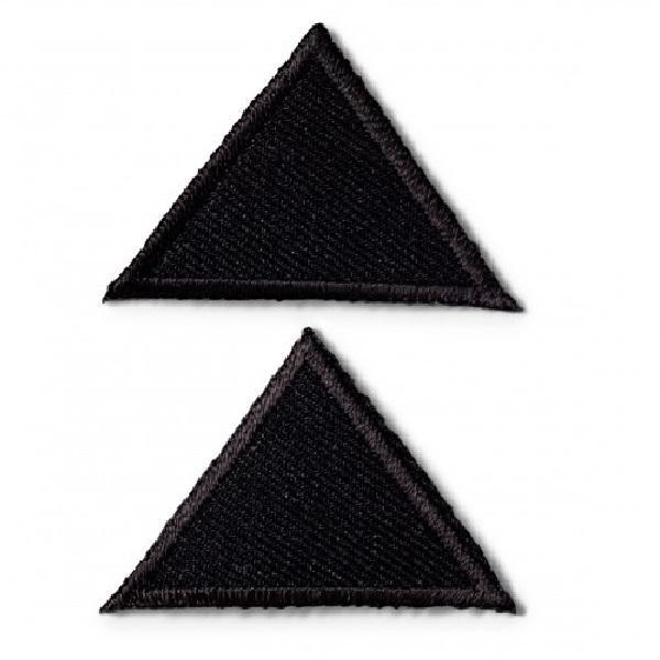 Θερμοκολλητικά μοτίφ τρίγωνα μεγάλα