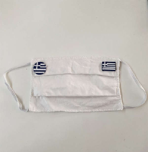 Ελληνικές σημαίες για μάσκες